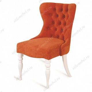 Кресло Вальс (эмаль белая / G08 - морковный)