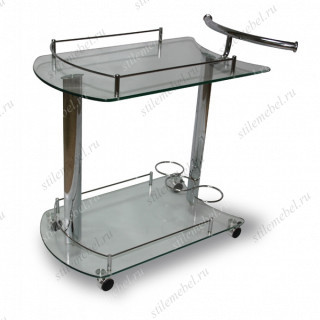 Сервировочный столик 5066-CG Стекло
