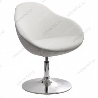 Барное кресло из экокожи A639 белое