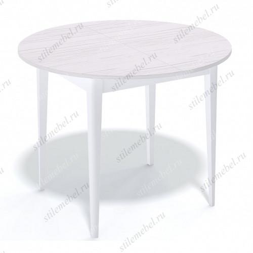 Стол Q1000 белый - ясень белый