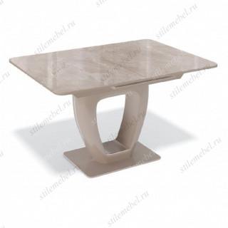 Стол BA1200 капучино/стекло камень капучино