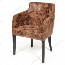 Кресло KNEZ wenge/коричневый (mega office 34)
