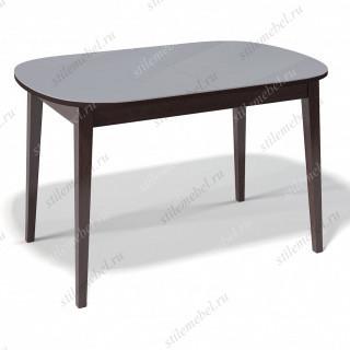 Стол 1300М венге/стекло серое