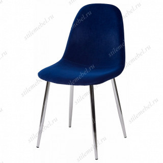 Стул PESCARA 829-10 синий, велюр