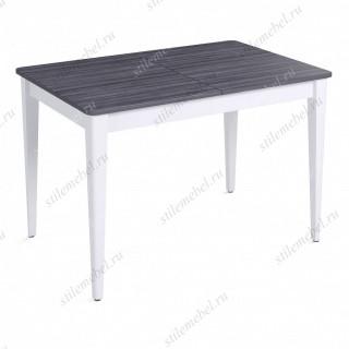 Стол Q1200 белый/ясень графит
