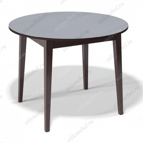 Стол 1000М венге/стекло серое