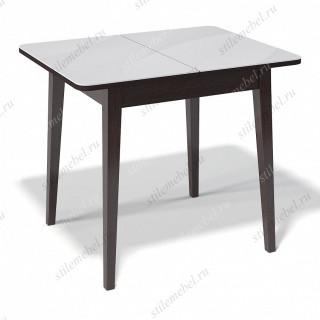 Стол 900М венге/стекло белое