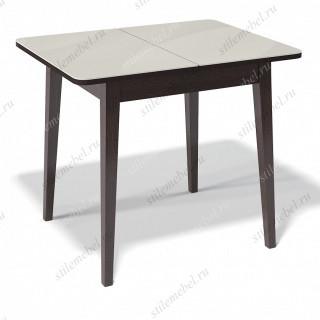 Стол 900М венге/стекло крем