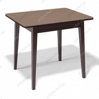 Стол 900М венге/стекло капучино