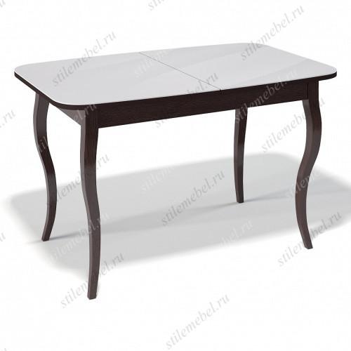 Стол 1200С венге/стекло белое