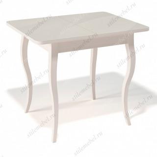 Стол 900С крем/стекло крем