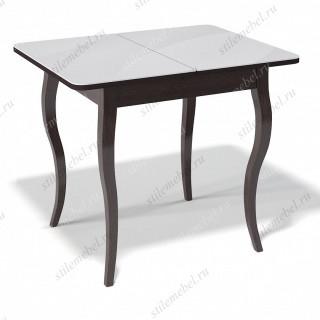 Стол 900С венге/стекло белое