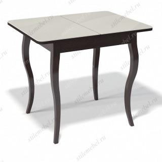 Стол 900С венге/стекло крем