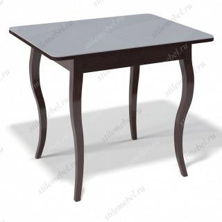 Стол 900С венге/стекло серое