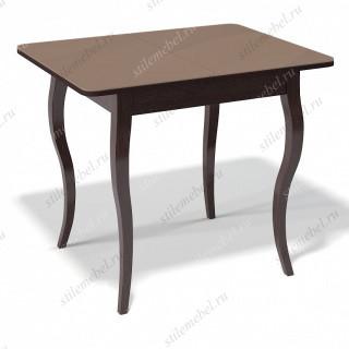 Стол 900С венге/стекло капучино