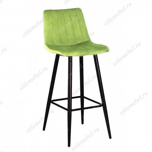 Барный стул DERRY G108-26 стебелек перца, велюр