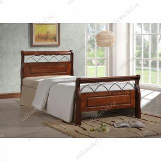 Кровать Nina MK-5231-RO (решетка металлическая), 90x200