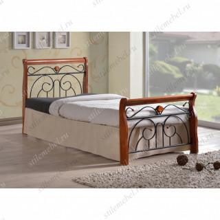 Кровать MK-5227-RO (решетка металлическая), 90x200