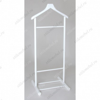 Вешалка для костюма ВМ-1 (основание+плечики) Белый