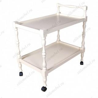Стол сервировочный Палермо белый
