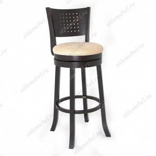 Барный крутящийся стул 299161 капучино/бежевый