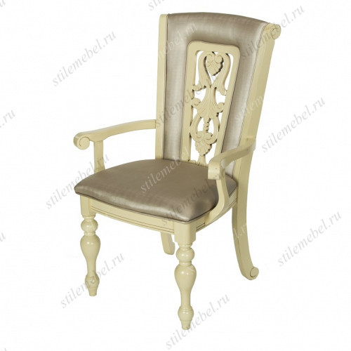 Кресло MK-4520-IV LUSA IVORY