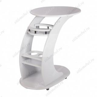 Прикроватный стол Люкс (молочный дуб)