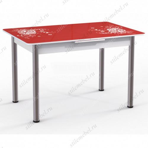 Обеденный стол Грация (красный)