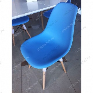 Стул Mobil Цвет: Blue - пластиковый