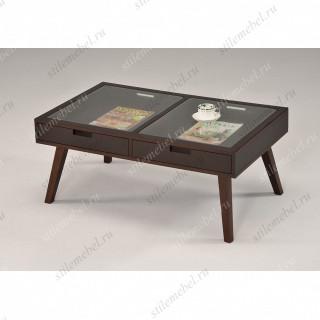 MK-6311. Журнальный столик со стекл.столешницей