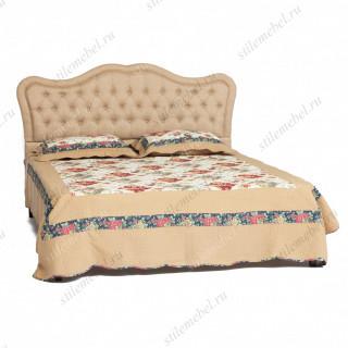 Двуспальная кровать Secret De Maison «Мадонна» (Madonna) 6671 (Бежевая ткань)