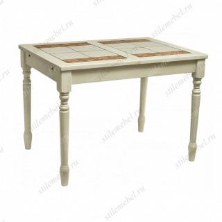 Стол LT T13302 BUTTERMILK #WW21/ плитка 2 тона LILY WHITE/ COSMO
