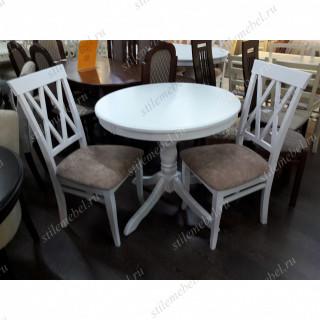 Обеденная группа стол  Медведь и 4 стула М18