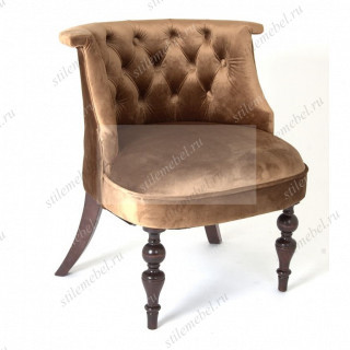 Кресло Бархат (темный тон / 6 - шоколад)