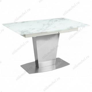 Стол CASTSTEEL 130 MATT GLASS матовый