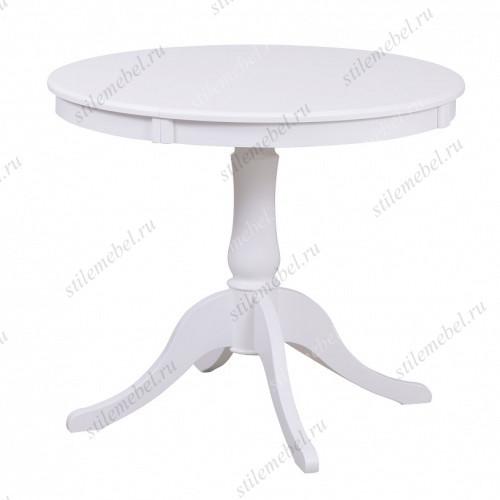 Стол обеденный Амадей белый матовый