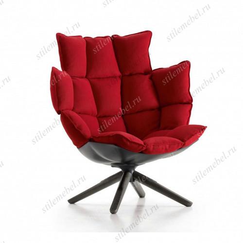 Дизайнерское кресло A617 (Husk Outdoor) красное
