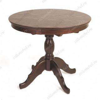 Стол обеденный Лилия-0090 (темный тон)