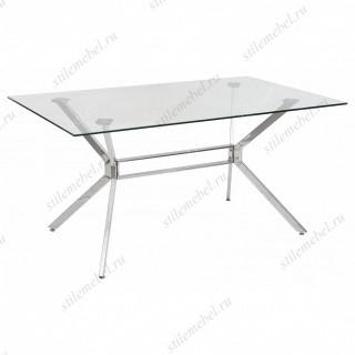 Стол SALERNO150 прозрачный