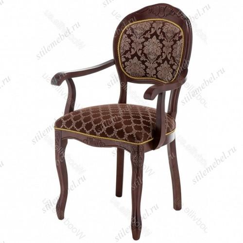 Кресло Лауро орех / шоколад