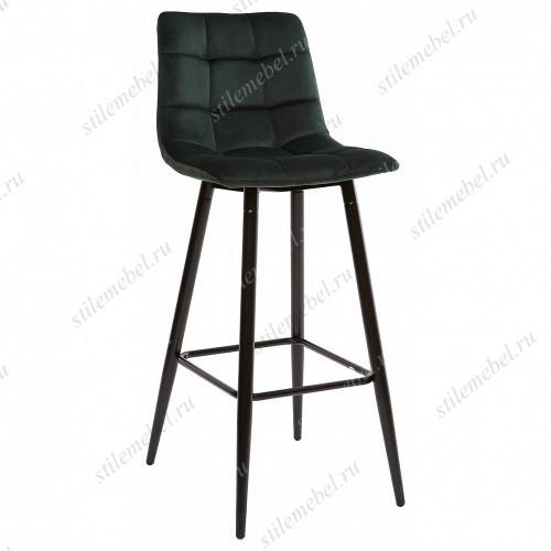 LECCO UF910-14 DARK GREEN барный стул, велюр