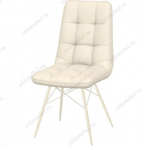 Стул Бордо белый паук, ткань Батлер 08