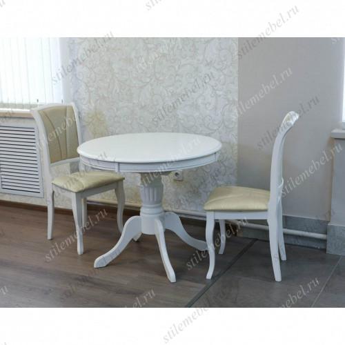 Обеденная группа Olivia Butter White (стол и 4 стула)