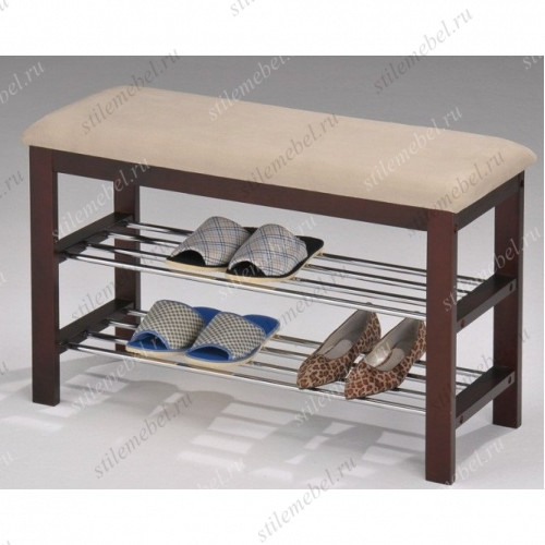 Подставка/стеллаж для обуви с мягким сиденьем А1244L