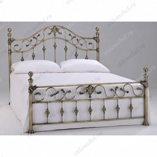 Кровать 9906 (160*200 см) Antique brass