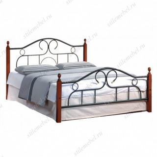 Кровать AT-808 (метал. каркас) + металл. основание (180x200)