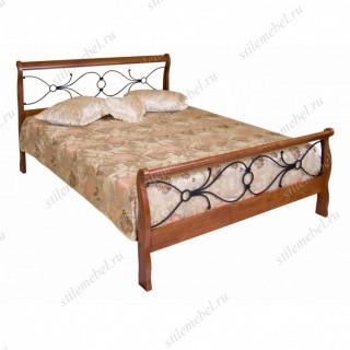 Кровать АМБЕР ( 160х200) Майер браун