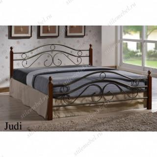 Кровать Джуди (Judi 803-180х200) Темный орех