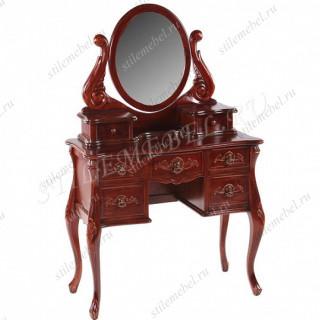 Туалетный столик с зеркалом ANTIQUE WA 016