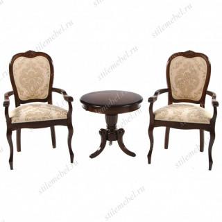 Комплект МО-ЕТ+ 2 кресла PR-АC Princess Tobacco, MAF brown